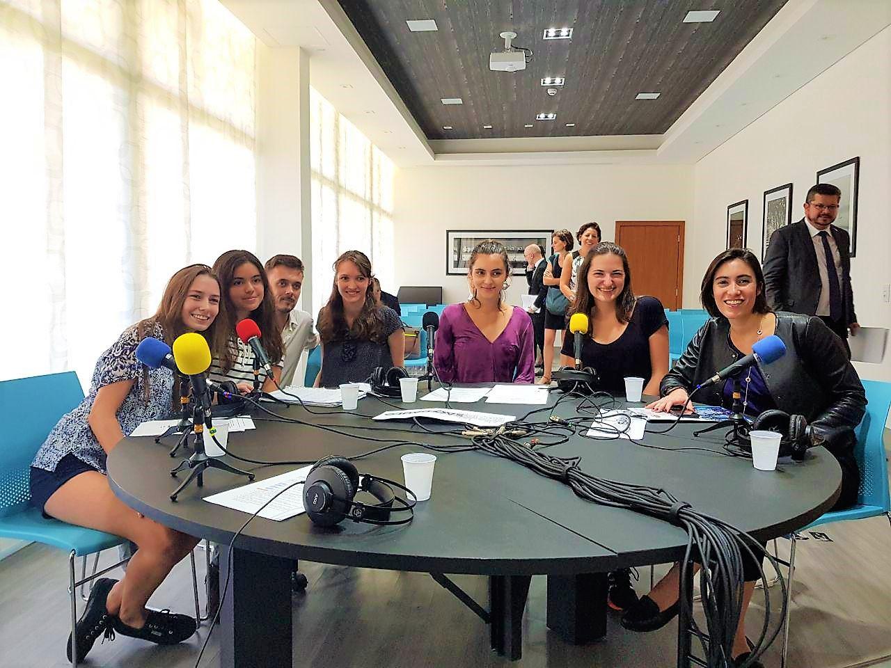 Projet WebRadio avec les élèves du Lycée Pasteur à Sao Paulo