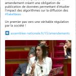 La proposition de loi sur la lutte contre les Fake News
